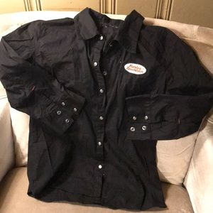 Harley Davidson blouse